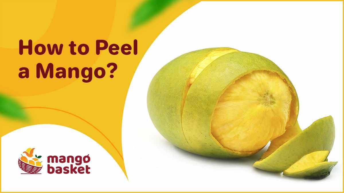 Peel a Mango